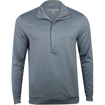 Matte Grey Hightower Half Zip Image