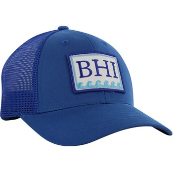 Bald Head Blues Trucker Image