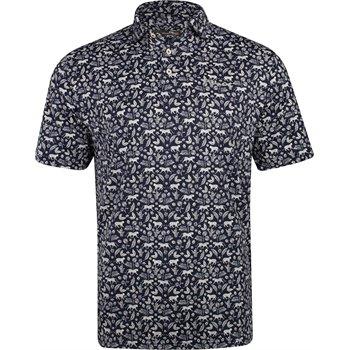 5cd9f3ad5d88 RLX Golf Printed Palm Lightweight Airflow Shirt