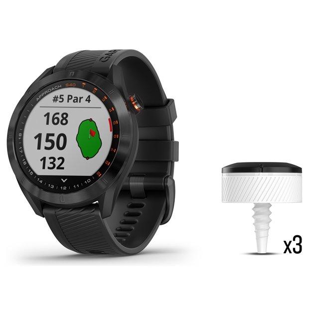 Garmin Approach S40 Watch CT10 Bundle Image