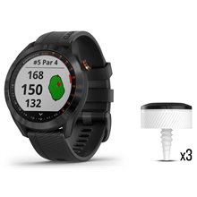 Garmin Approach S40 Watch CT10 Bundle
