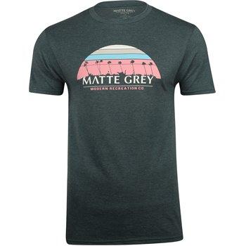 Matte Grey 9 Palm Sunset Image