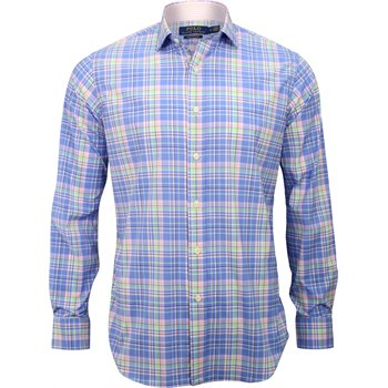 Polo Golf Stretch Luxury Multi-Check Twill Button Down Image