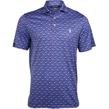 Polo Golf Printed Fashion Lisle Image