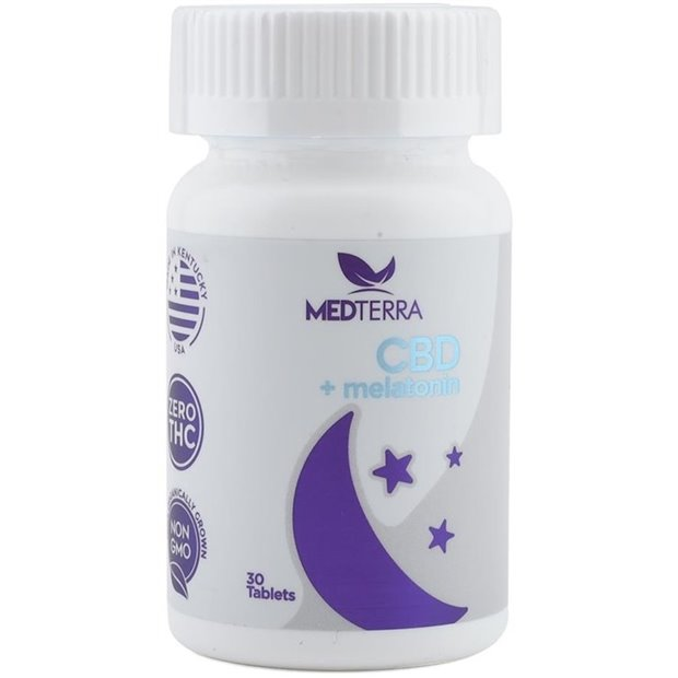 Medterra Dissolvable Sleep Tablet Image