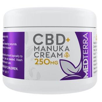 Medterra Manuka Healing Cream 250MG Image
