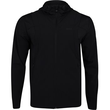 Hugo Boss Swoven Soft Stretch Jersey Full Zip Sweatshirt Image