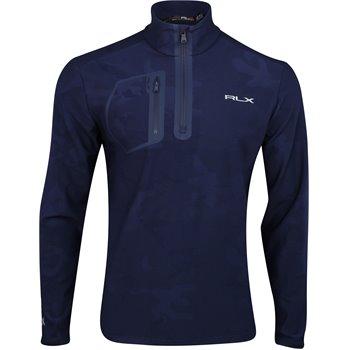RLX Golf Lux Jacquard Brushed Back Thermal Jersey Image