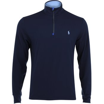 Polo Golf Solid Stretch Peached Jersey Half-Zip Image