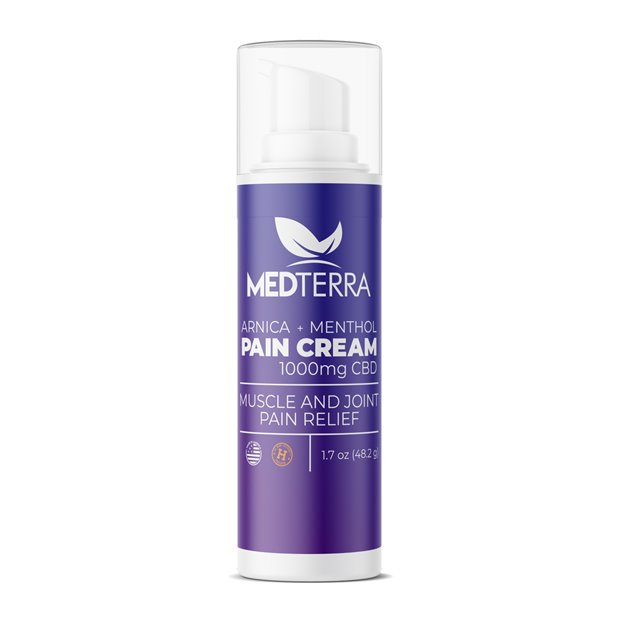 Medterra Pain Relief Topical Cooling Cream Image