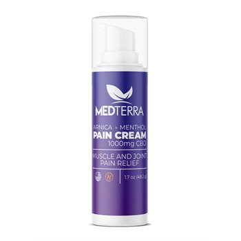 Medterra Pain Relief Topical Cooling Cream 1000 MG Image