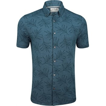 Linksoul Anza Frond Print Button Down Image