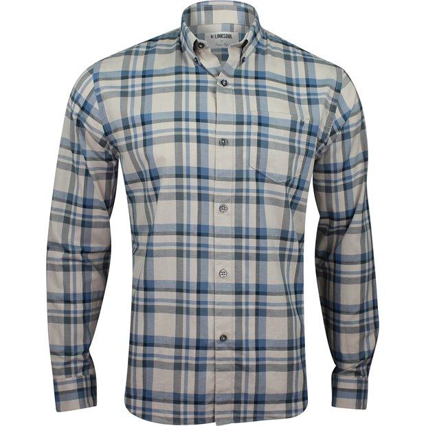 Linksoul Linen Cotton Plaid L/S Button Down Image