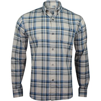Linksoul Linen Cotton Plaid L/S Button Down Image