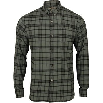 Linksoul Cotton Flannel Plaid L/S Button Down Image