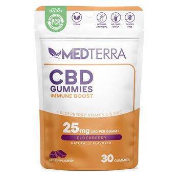 Medterra Immune Boost Gummies - Elderberry Image