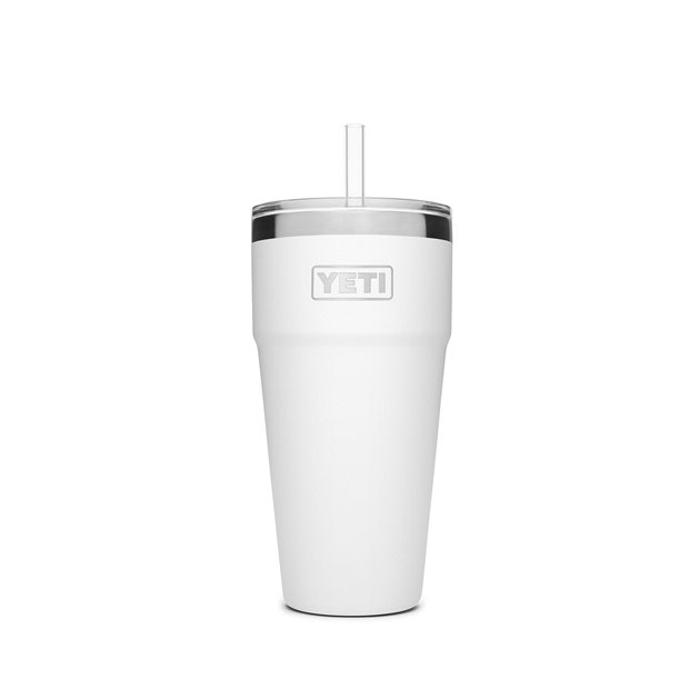 YETI Rambler 26 oz Stackable Cup with Straw Lid Image
