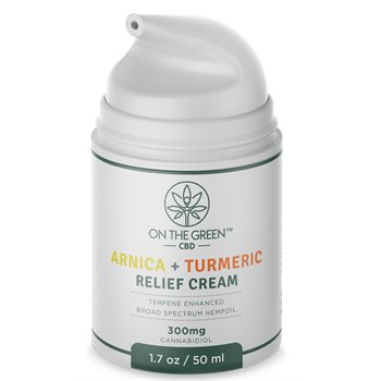 On The Green Relief Arnica & Tumeric Lotion (300 MG) Image