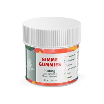 On The Green Gummies 10 Pack (10 MG per gummy) Image