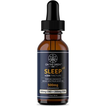 On The Green Sleep Broad Spectrum Tincture CBD (300 MG) + CBN (200 MG) Image
