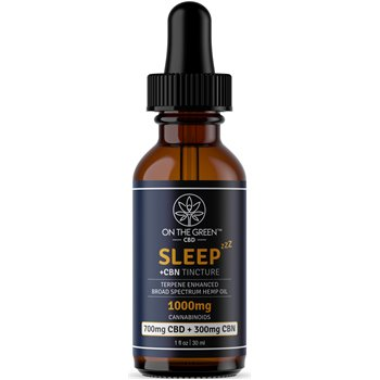 On The Green Sleep Broad Spectrum Tincture CBD (700 MG) + CBN (300 MG) Image