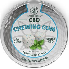 On The Green Chewing Gum 10 Pack (10 MG per piece) Image
