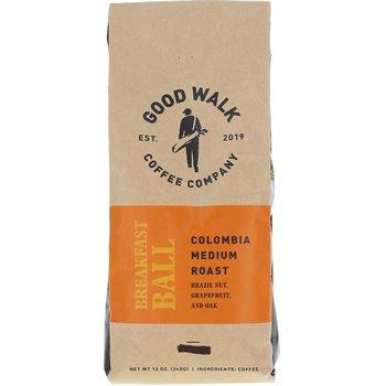 Good Walk Coffee Company Breakfast Ball Colombia Medium Roast -Whole Bean Image