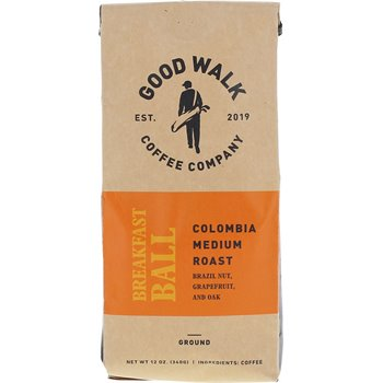 Good Walk Coffee Company Breakfast Ball Colombia Medium Roast -Ground Image