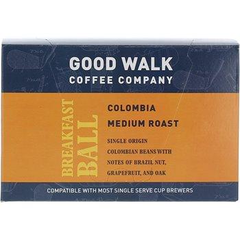Good Walk Coffee Company Breakfast Ball Colombia Medium Roast K-cup Carton Image