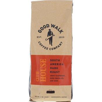 Good Walk Coffee Company Clubhouse South America Dark Roast -Whole Bean Image