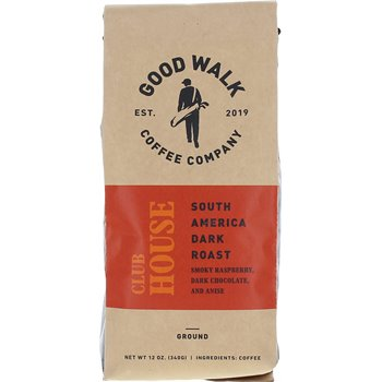 Good Walk Coffee Company Clubhouse South America Dark Roast -Ground Image