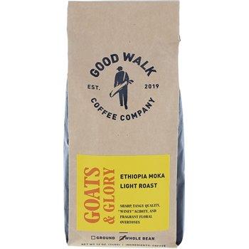 Good Walk Coffee Company Goats & Glory Ethiopia Light Roast -Whole Bean Image