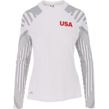 Adidas USA Heat.RDY L/S Mock Image