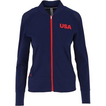 Adidas USA Perforated Full Zip Image