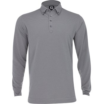FootJoy Feeder Stripe Jersey L/S Buttondown Collar Image